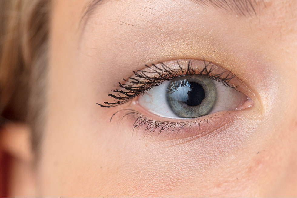 green-grey colour eye